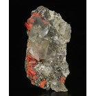 Calcite and realgar China M02380